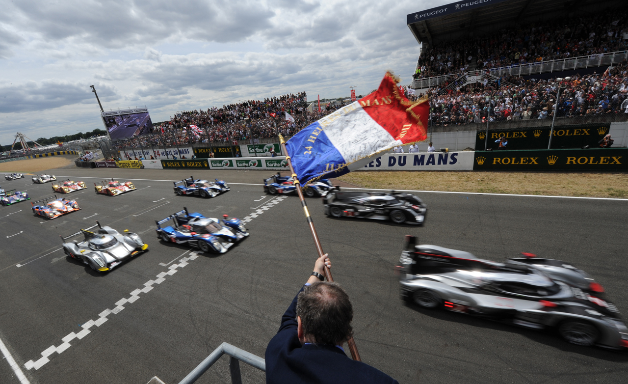 24 Hours of Le Mans start race
